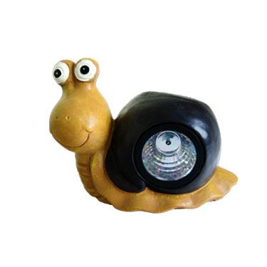 Solar Snail Resin Lamp